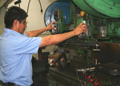 Worker at Argo Spring Manufacturing Co.'s Facilities in California