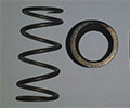 Custom Compression Titanium Spring for the Government/Military Industry